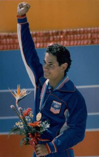 奥运历史巨星之洛加尼斯--水池边翩翩起舞的王子