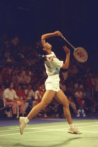 奥运历史巨星之王莲香--印尼的骄傲