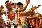 图文-大洋洲各岛国风情 密克罗尼西亚联邦土著居民