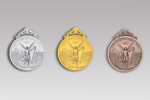 اعلان تصميمات ميداليات الدورة الأولمبية 2008