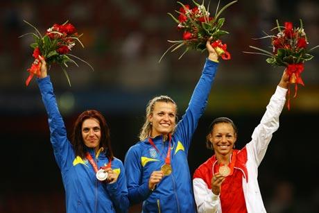 图文-[奥运]女子七项全能 值得骄傲的时刻
