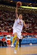 图文-中国女篮VS西班牙 西班牙队10号埃丽莎上篮