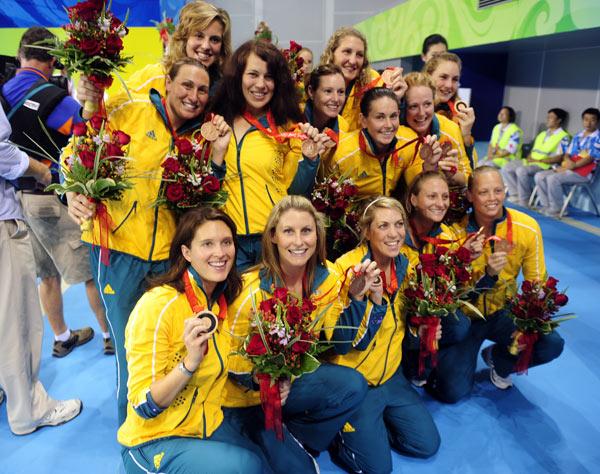 女子水球荷兰胜美国夺金