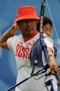 图文-北京奥运射箭比赛精彩回顾 咦?我的箭呢