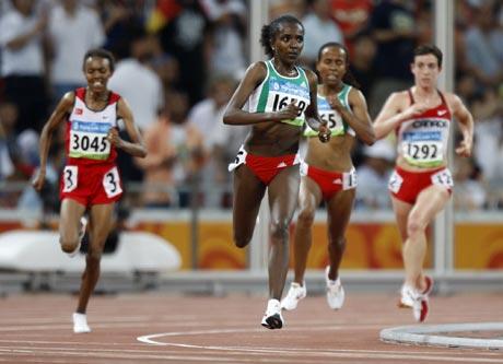 女子5000米决赛