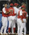 图文-聚焦奥运会17日棒球赛场 失败了可以从头再来