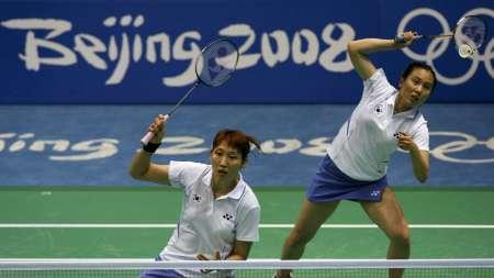 图文-羽毛球女双杨维/张洁雯晋级 两李组合有实力