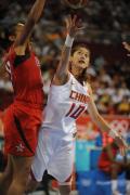 图文-奥运女篮预赛中国不敌美国