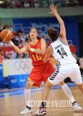 图文-[奥运会]中国女篮80-63新西兰 隋菲菲传球