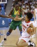 图文-[小组赛]女篮69-48马里 死守球就是不给