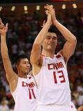 图文-奥运男篮中国胜德国