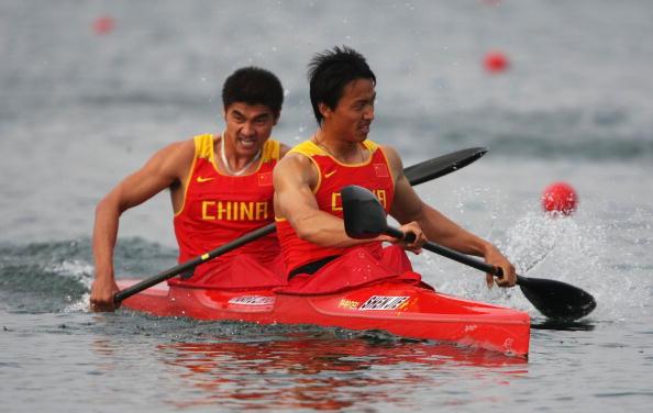 图文-奥运会皮划艇静水比赛拉开帷幕 中国选手