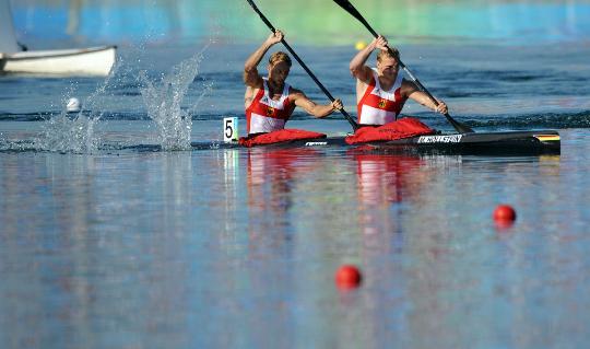 男子双人皮艇1000米决赛