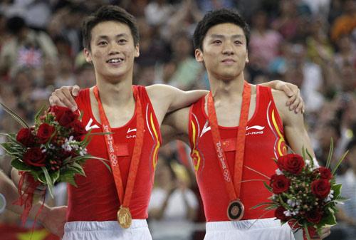 图文-蹦床男子个人陆春龙夺金 中国获冠军季军