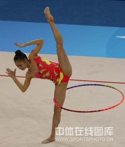 图文-艺体个人首轮李红扬位列第12 玩的就是技巧
