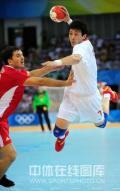 图文-[男手]中国22-33负克罗地亚 对手难以拦截