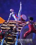 图文-北京奥运会闭幕式现场 演员进行艺术表演