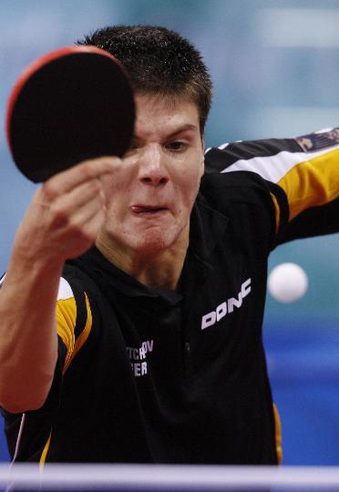 图文-奥运会男单第三轮赛况 奥恰洛夫险胜出线