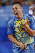 图文-乒乓球男子单打决赛 马琳势不可挡