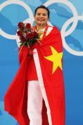 图文-陈燮霞摘北京奥运中国首金 此时此刻今生难忘