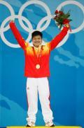 图文-[奥运]男举56公斤级 龙清泉夺冠绽放可爱笑容