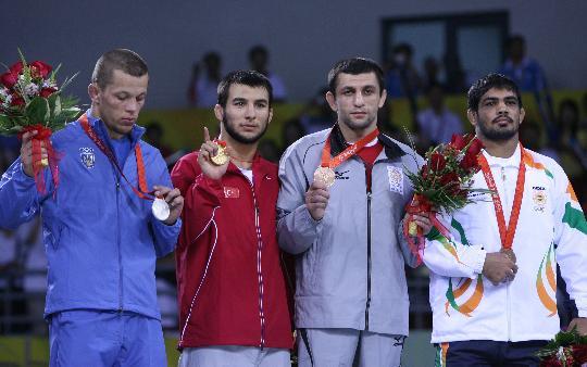 摔跤男子66公斤级决赛