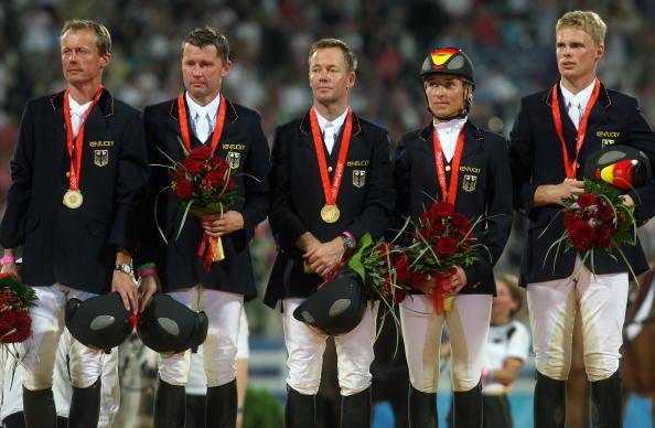图文-[奥运]马术三项赛团体决赛 德国队夺冠