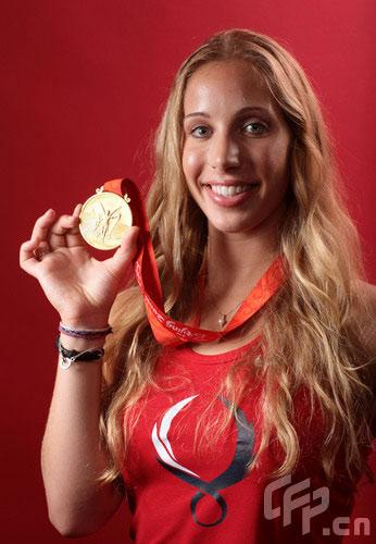 奥运冠军宣传照