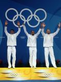 图文-[奥运]男子重剑团体决赛 法国队夺得冠军