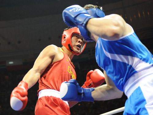 Boxe (+91kg, H) : L'Italien Roberto Cammarelle sacré