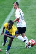 图文-[奥运会]德国女足VS巴西