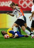 图文-[奥运会]德国女足0-0巴西 丹尼埃拉毫无惧色