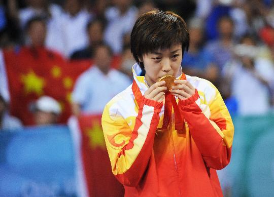 奥运乒乓球金牌回顾