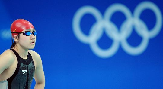 女子50米自由泳预赛