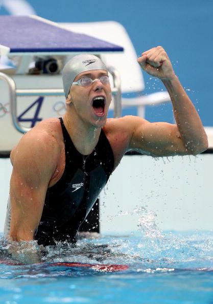 图文-奥运会男子50米自由泳决赛 小西埃洛怒吼