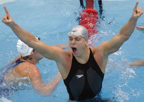 图文-男子50米自由泳决赛 我是天下第一