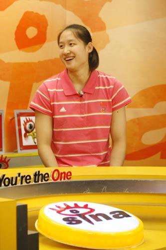 图文-冠军刘子歌做客新浪聊奥运 魅力的瞬间