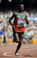 图文-奥运会男子马拉松决赛 坚持向前跑