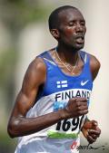 图文-奥运会男子马拉松决赛 芬兰选手