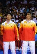 图文-[羽毛球男双]印尼组合夺金 中国组合夺银