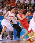 图文-[奥运]西班牙85-75中国男篮 想靠住我没门