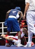 图文-20日奥运赛场拳击赛况 别再逼我了