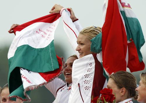 女子双人皮艇500米决赛