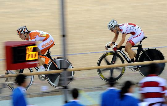 自行车女子记分赛决赛