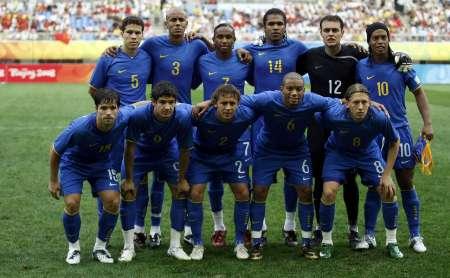 图文-新西兰国奥VS巴西国奥 桑巴首发11人_足球