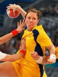 图文-女子手球5-8名排位赛 势不可挡