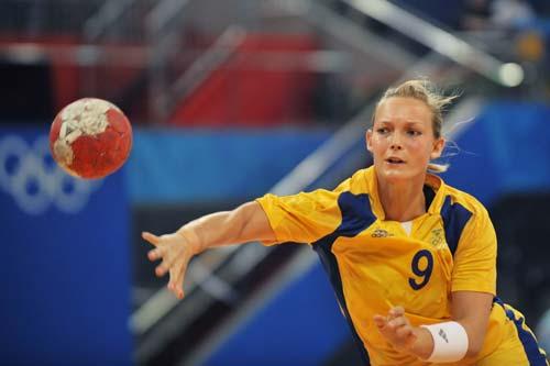 图文-女子手球5-8名排位赛 球快还是人快