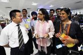 印度人士前往北京观奥运