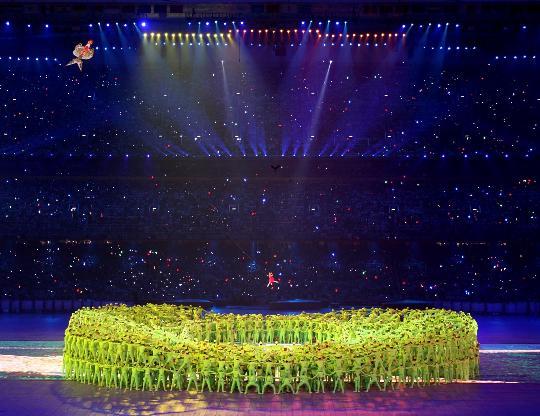 7届奥运会开幕式上的经典场景(组图) - daigaole101 - 我的博客