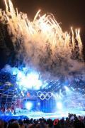 图文-青岛今夜更加精彩迎接开幕式 焰火表演